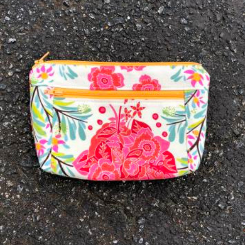 Sewing 102: Double Zip Pouch